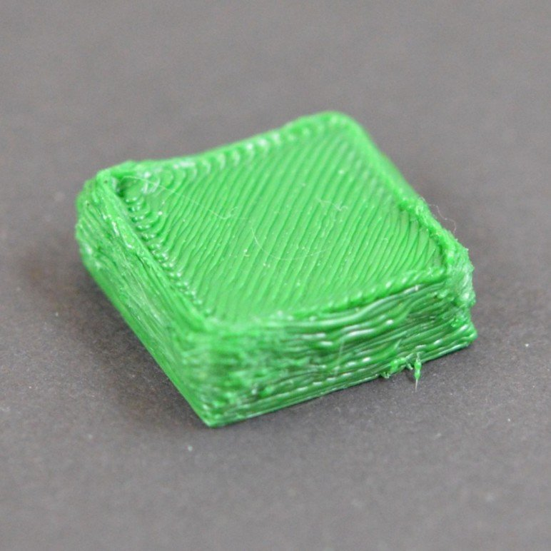 An extreme case of over-extrusion.