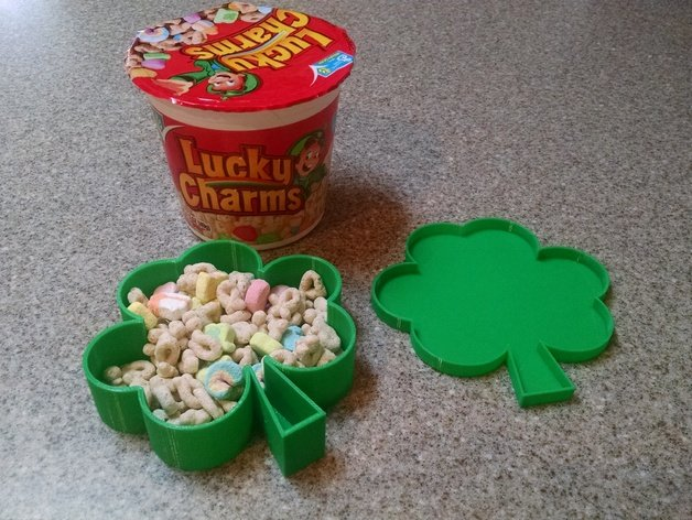 Image of Weekend Project: 10 Festive 3D Prints for Saint Patrick's Day: Shamrock Box