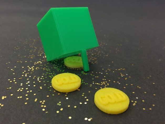 Image of Weekend Project: 10 Festive 3D Prints for Saint Patrick's Day: Leprechaun Trap and Coins