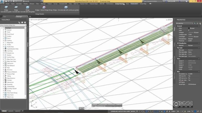 Designing a bridge.