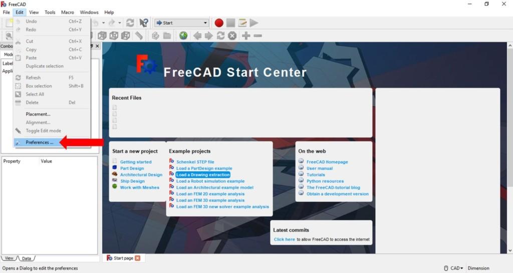 Free Cad tutorial