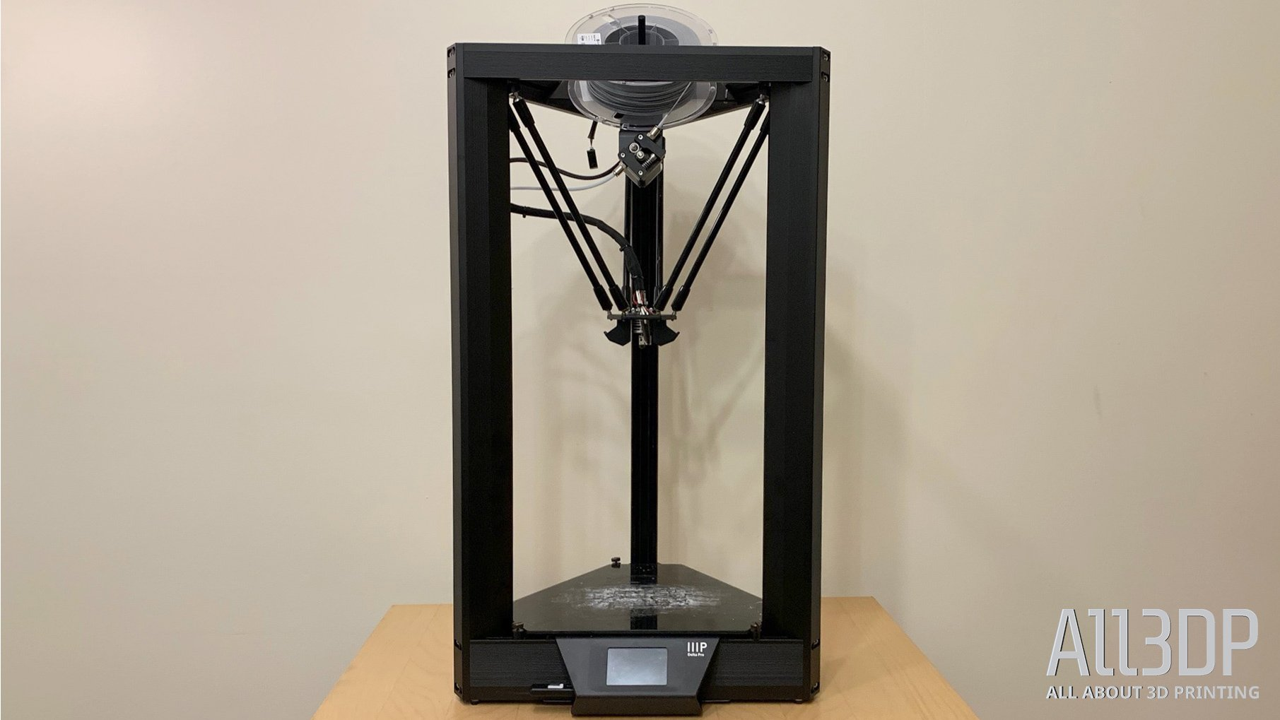 Monoprice Delta Pro Review: A First-Rate 3D Printer | All3DP