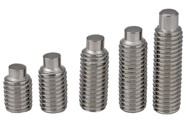 A set of dog point screws.