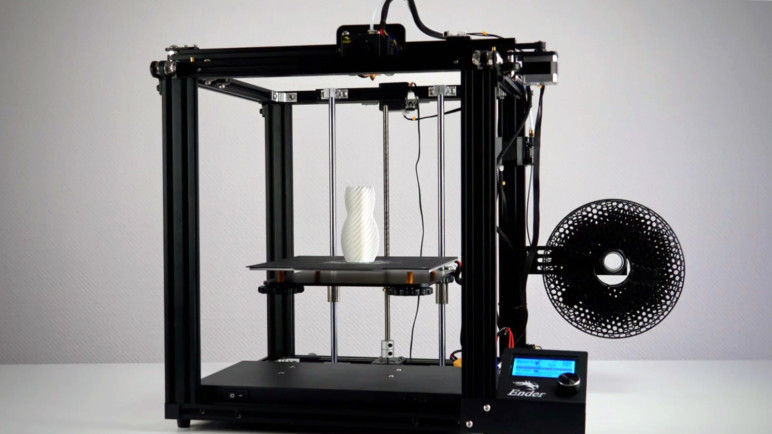 Image of Best Cheap 3D Printer Priced Under $500: Creality Ender-5