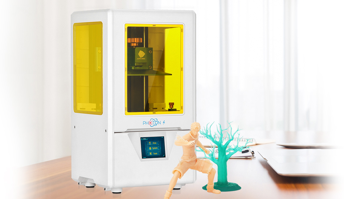"""Featured image of Anycubic Releases New """"Photon S"""" Budget LCD Resin 3D Printer"""