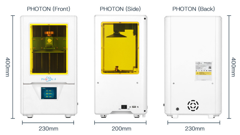 Image of Anycubic Photon S – Review the Specs: Specs