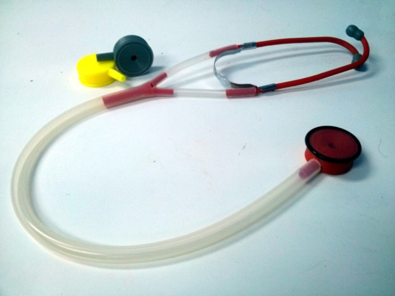 The first 3D printed stethoscope.