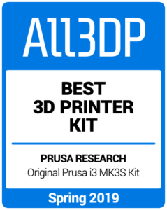 Best-3D-Printer-Kit Spring 2019 All3DP