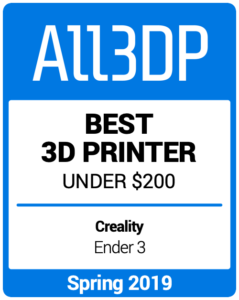 Best-3D-Printer-under-200 Spring 2019 All3DP