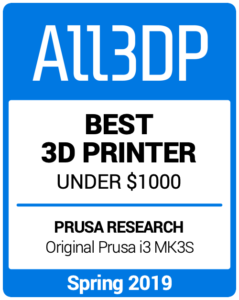 Best-3D-Printer-under-1000 Spring 2019 All3DP
