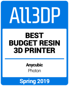 Best-Budget-Resin-3D-Printer Spring 2019 All3DP