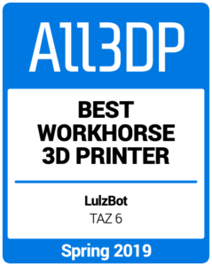 Best-Workhorse-3D-Printer Spring 2019 All3DP