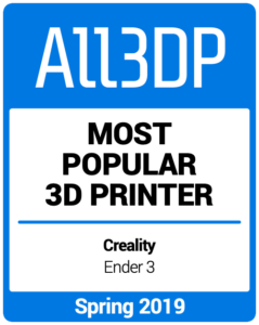 Most-Popular-3D-Printer Spring 2019 All3DP