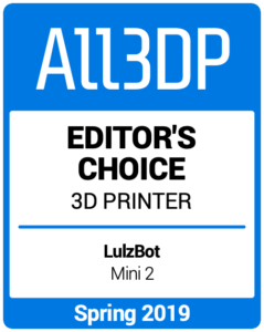 Editors-Choice-3-3D-Printer1 Spring 2019 All3DP
