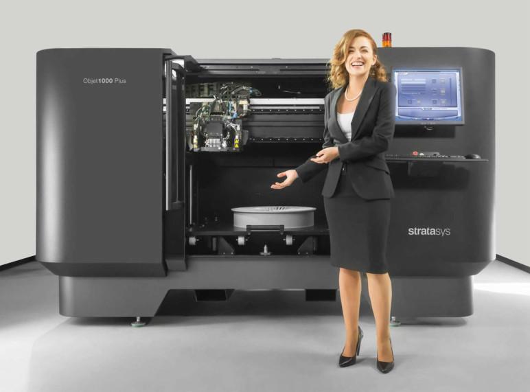 Stratasys Objet100 Plus material jetting 3D printer