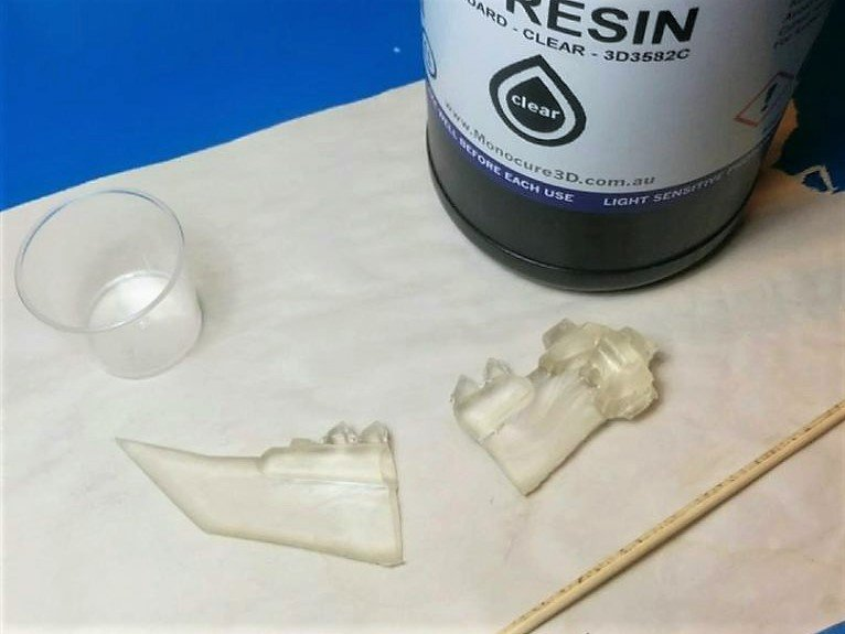 Resin prints are famously fragile.