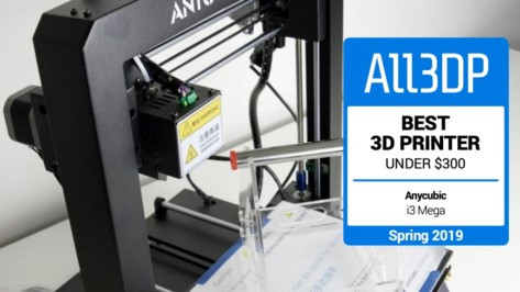 Featured image of 2019 Anycubic i3 Mega Review – Great 3D Printer Under $300