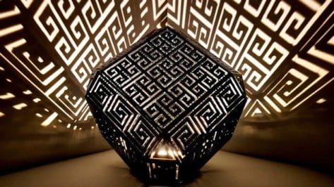 Featured image of [Project] Create Captivating Patterns with a 3D Printed Greek Meander Lamp