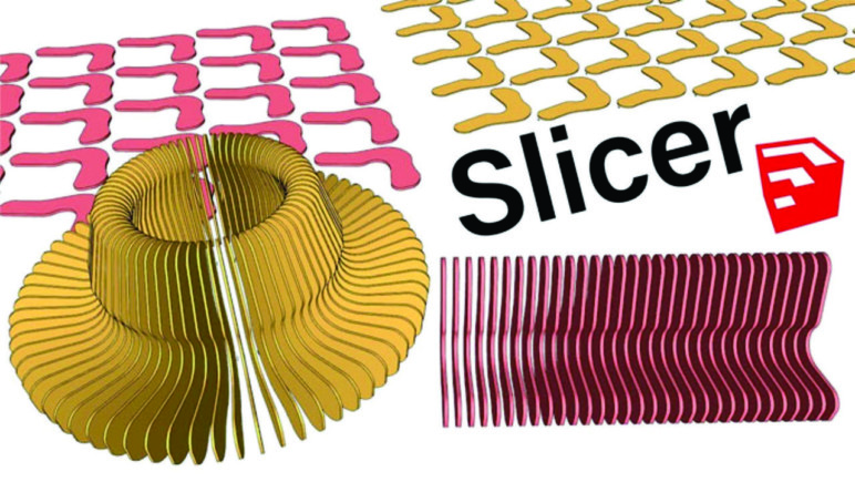 Pieces generated by the Slicer plugin.
