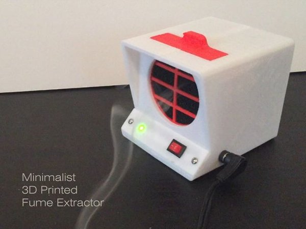 Project] Clear the Air with a Minimalist 3D Printed Fume