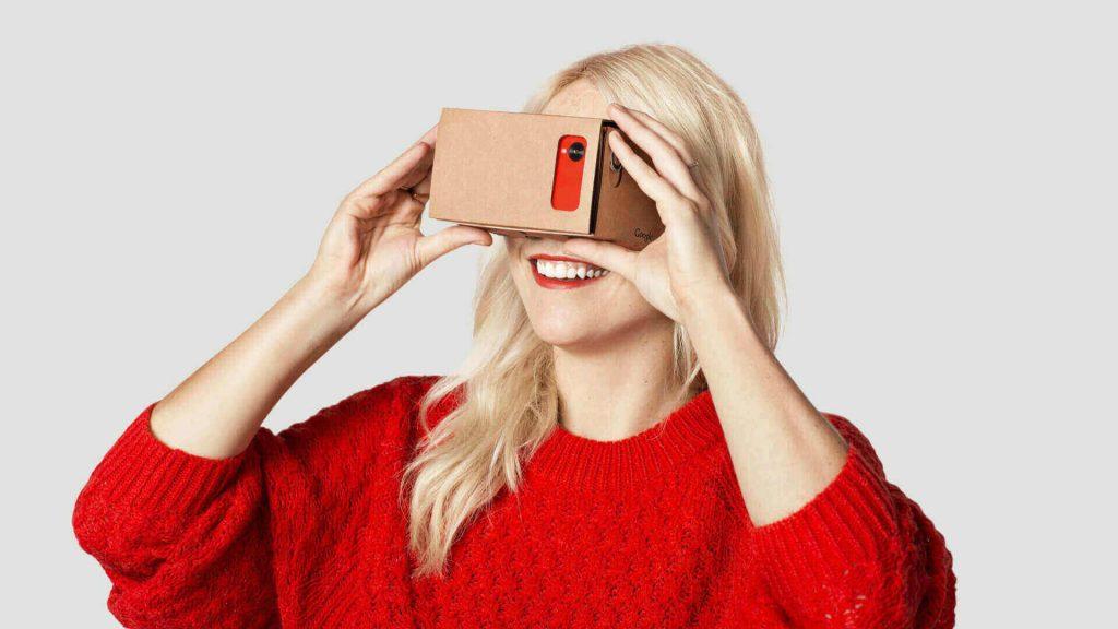VR roller coaster google cardboard