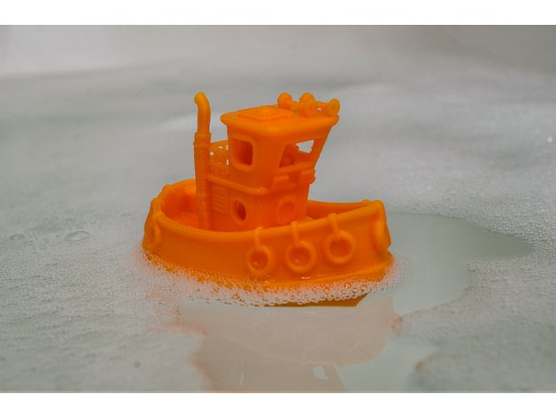 Image of April Fools Pranks: Toy Boat Blunder