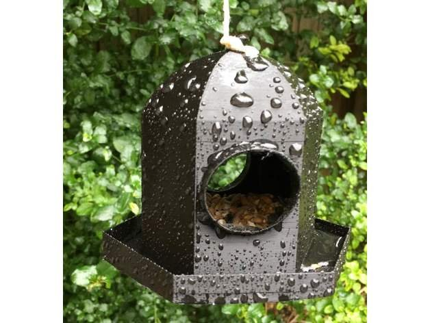 Image of April Fools Pranks: Bird Feeder Fail