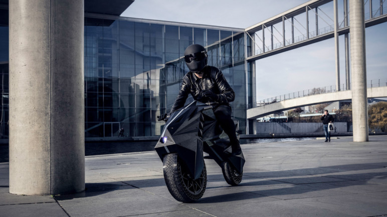 NERA: World's first 3D printed motorcycle.