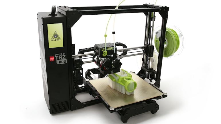 Image of LulzBot TAZ Pro 3D Printer – Review the Specs: Features