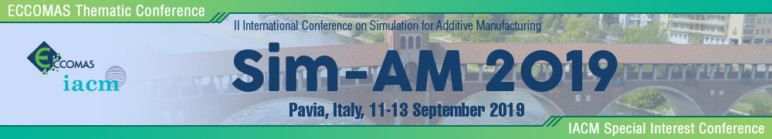 Image of Additive Manufacturing / 3D Printing Conference: Sep. 11-13, 2019 - Sim-AM 2019