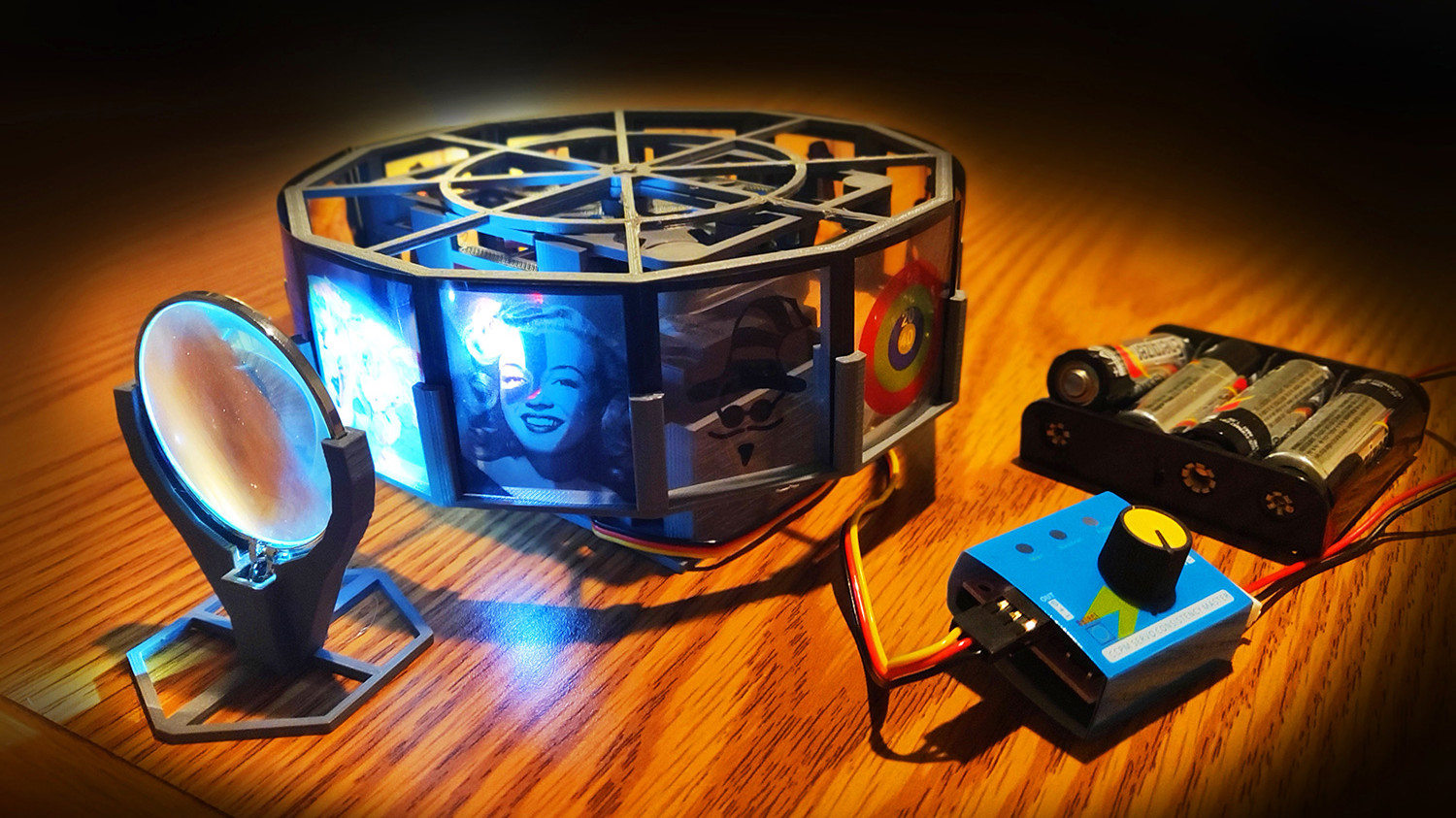 [Project] Hit the Big Screen with a 3D Printed Projector | All3DP