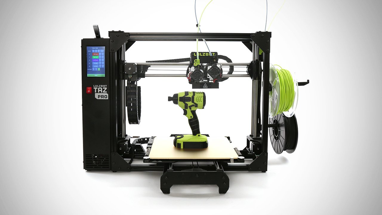 LulzBot TAZ Pro 3D Printer: Review the Specs | All3DP