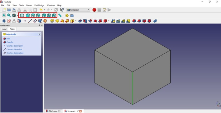 Image of FreeCAD Tutorial for 3D Printing: 1.6 Moving objects