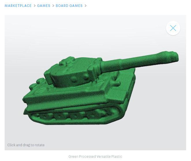 A 3D printable tank.