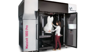 Featured image of Massivit 1800 Pro 3D Printing Solution Launched in the US and Used in French International Cartoon Festival