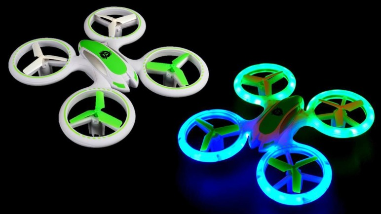 This drone is sure to enlighten your night-flying experience!