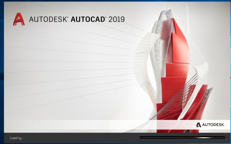 AutoCAD installation screen.