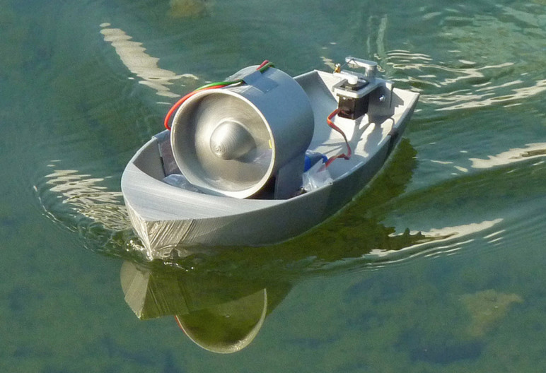 3D Printed Boat – 5 Most Interesting Projects in 2019 | All3DP