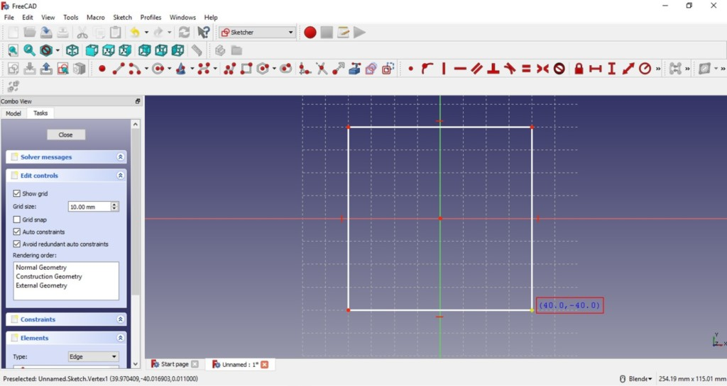 FreeCAD tutorial