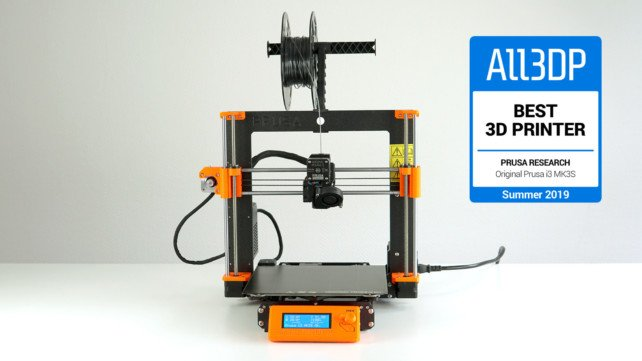 Featured image of Original Prusa i3 MK3S Review – Best 3D Printer of Summer 2019