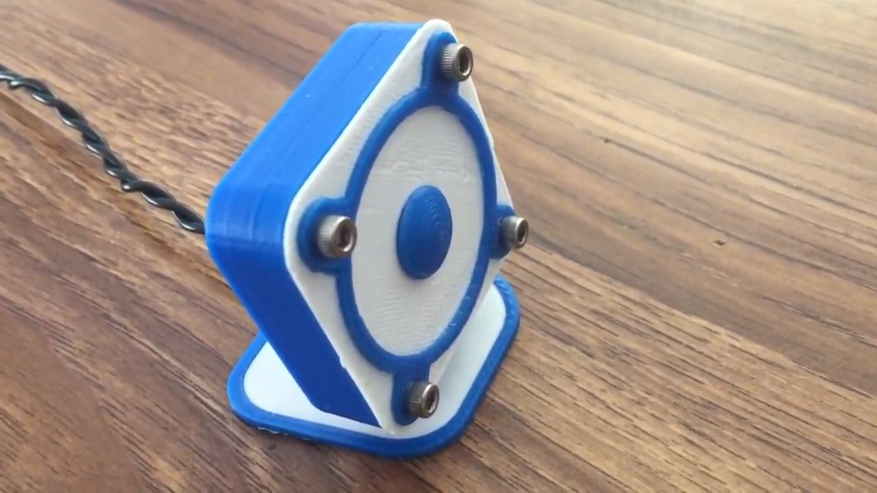 [Project] What's That Sound? A Fully 3D Printed Speaker | All3DP
