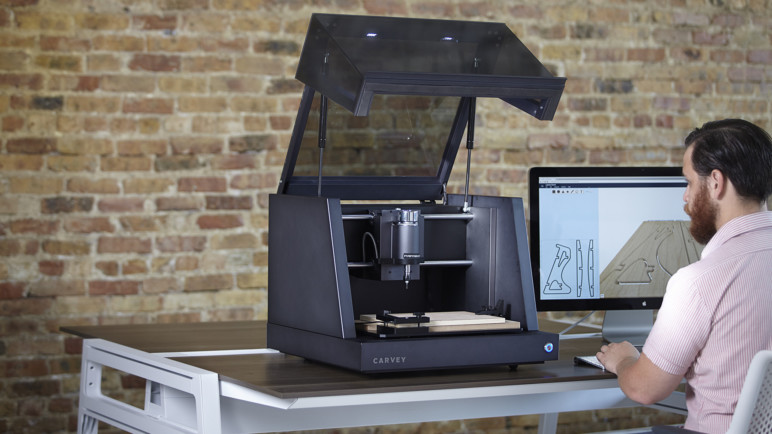 Image of Inventables Carvey 3D Carver – Review the Specs: Features