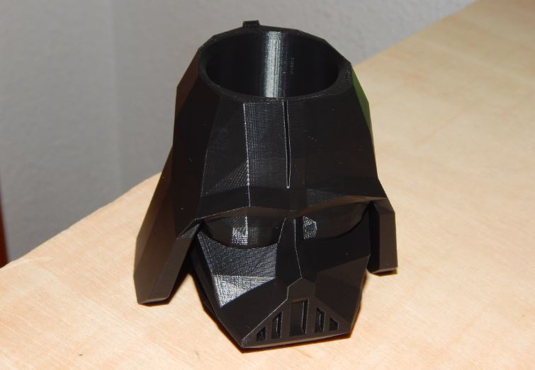 Our Vader Pencil Holder from another angle.