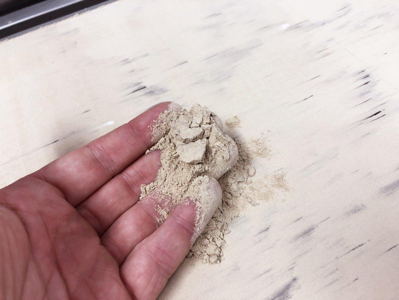 Mezcla de piedra caliza y ceniza similar perfecta para impresión 3D Notre Dame