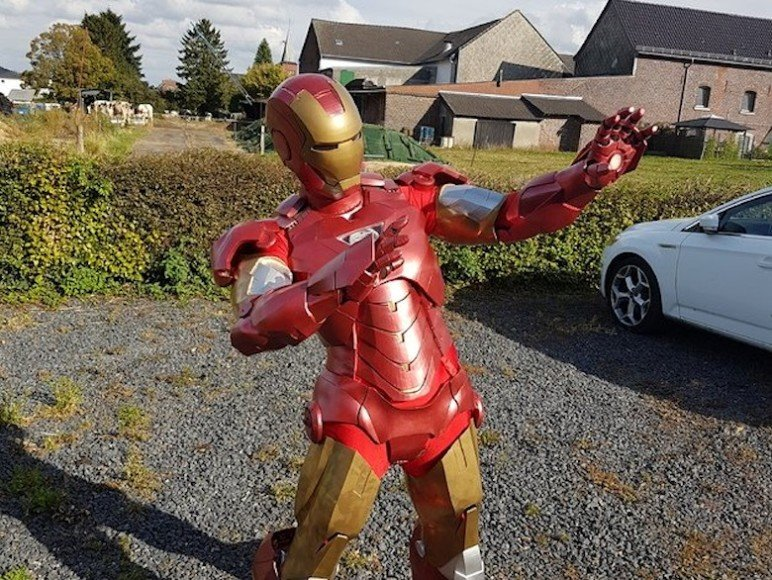 Join the league by bringing your own Iron Man suit.