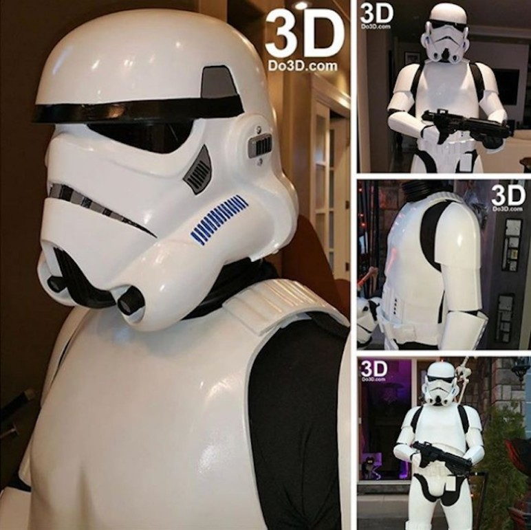 Join the forces of the Galactic Empire as a Imperial Stormtrooper.