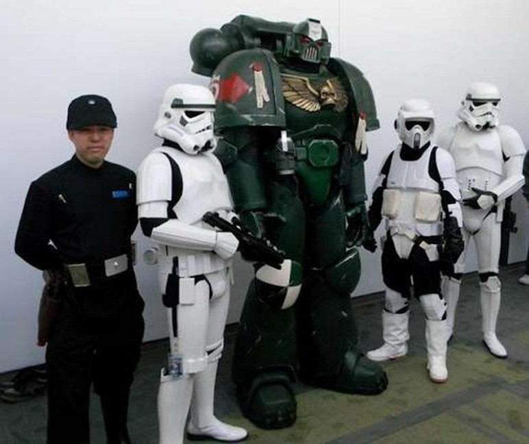 With a group a friends, you could have a 3D printed armor army at the next Comic-Con.