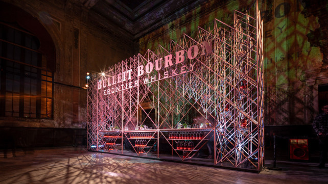 Featured image of Bulleit Whiskey 3D Prints Drinks and Lounge at Tribeca Film Fest
