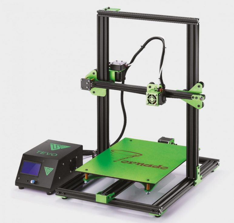 Image of Best Prusa i3 Clone Alternatives: The Largest: Tevo Tornado