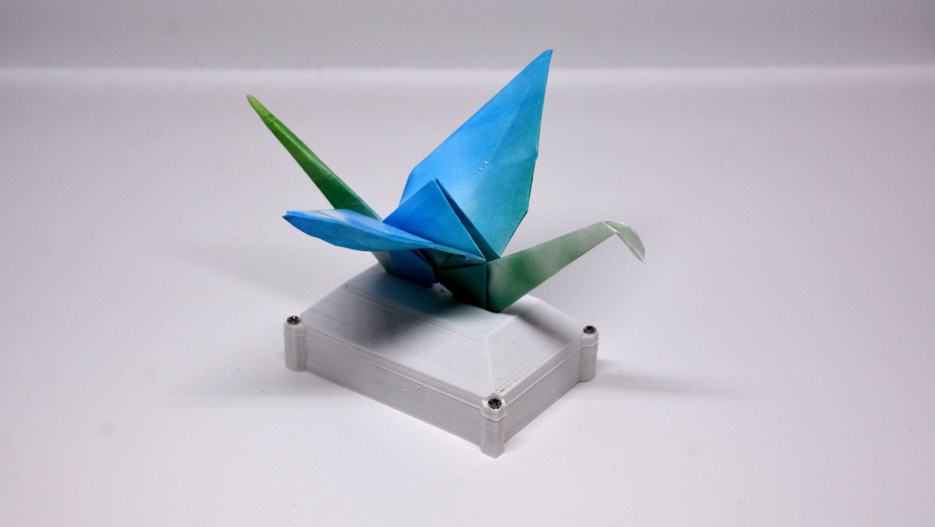 [Project] Automated Origami Swan | All3DP